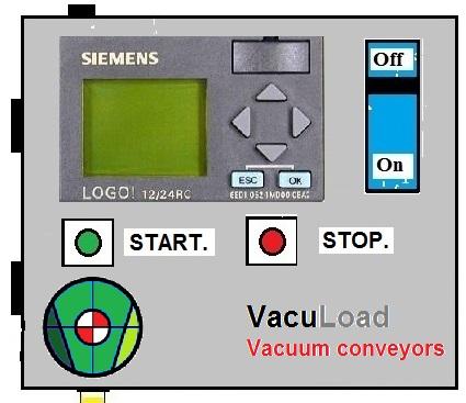 Siemens-PLC Vacuumconveyor besturing
