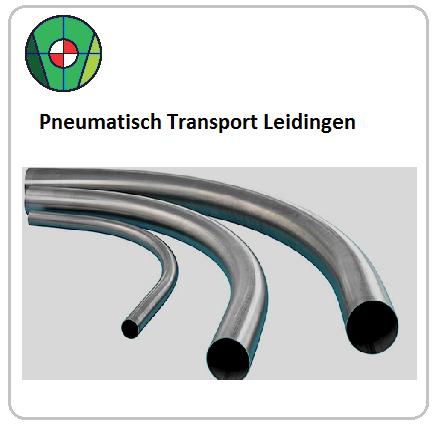 Radius bochten pneumatisch transport