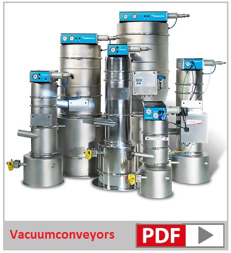 vacuumtransport van bulkgoederen