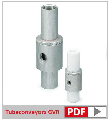 Tubeconveyors variabele flow