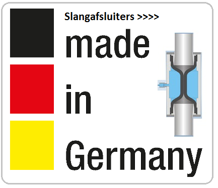 Slangventielen made in Germany