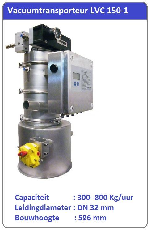 Vacuumtransport systeem LVC 150-1