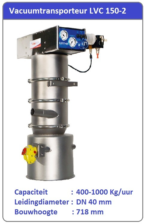 Vacuumtransport systeem  LVC 150-2