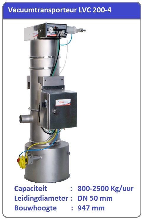 Vacuumtransport systeem LVC 200-4
