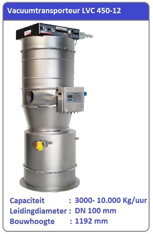 Vacuumtransport systeem LVC 450-12